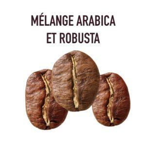 Mélange Arabica et Robusta